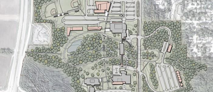 DKA Architects Black Hawk College MC Site Plan Planning