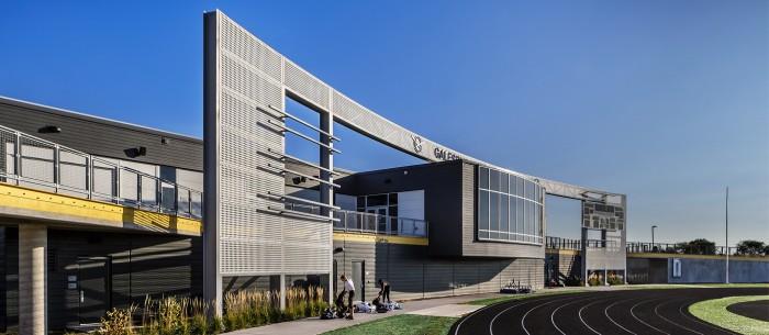 DKA Architects Galesburg High School Architecture