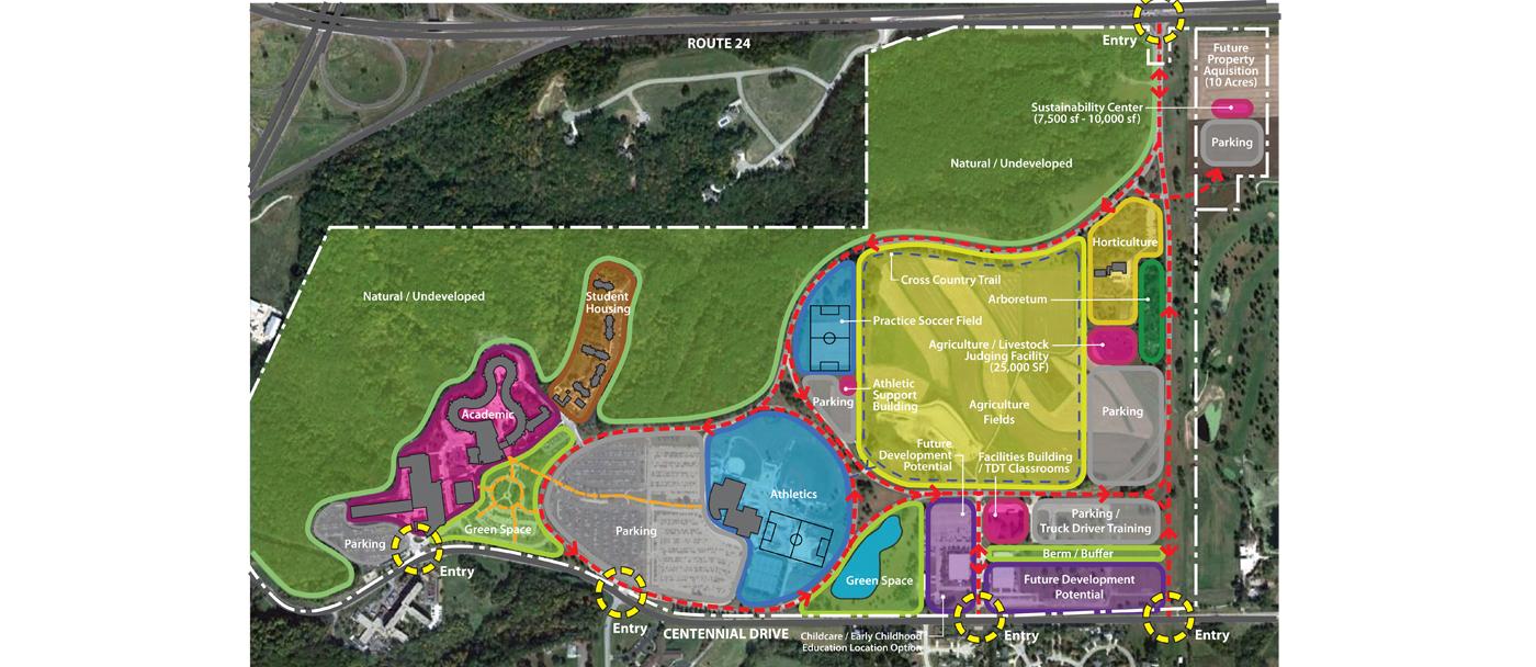 DKA_Architects_Illinois Central College_Master Plan_1 ...