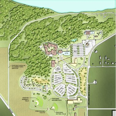 Illinois College Campus Map.Illinois Valley Community College Demonica Kemper Architects