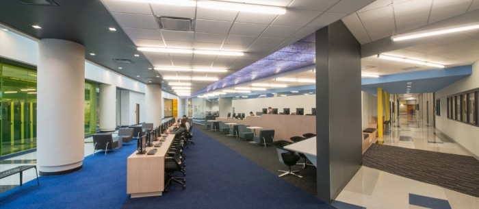 DKA Architects Moraine Valley Community College Technology Center Renovations Interiors