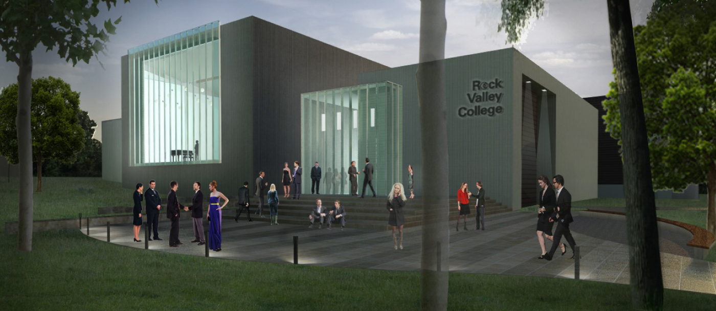 dka architects rock valley college performing arts center 5